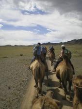 Mongolie, à pied , à cheval et à chameau