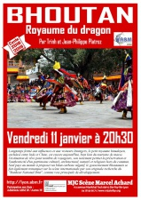 Bhoutan Royaume du dragon