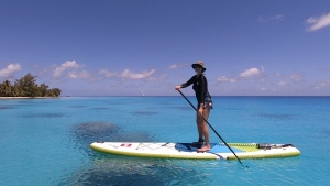 Visioconférence Polynésie en paddle