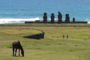 Petit tour dans l'île de Pâques