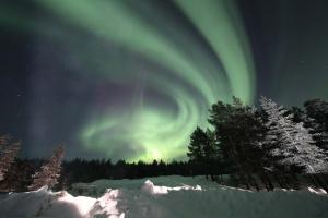 Aurores boréales Suède, Finlande