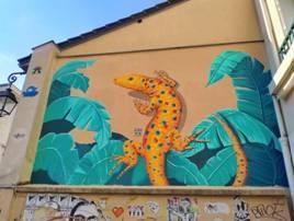 Randonnée Le Street Art « les Lézards de la Bièvre »