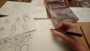 atelier d'écriture « Ecrire au gré des pas »