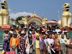 Hommage au peuple birman