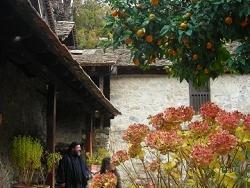 Chypre dans un petit monastere