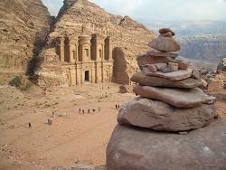 Petra Esplanade du Deir