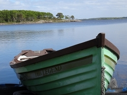Sur les rives d'un lac irlandais