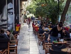 Athenes, quartier d'Exárcheia