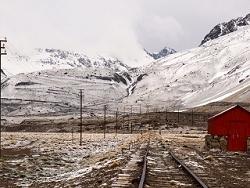 Gare de Lenas à Las Cuevas