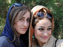 Jeunes femmes iraniennes