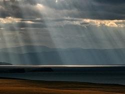 pluie de lumière
