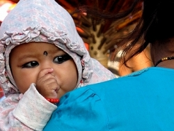 Regard, Népal