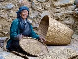 Rencontre, sourire, Népal