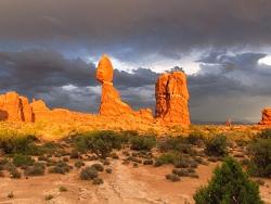 Arches après l'orage