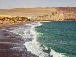Entre le désert et la mer, réserve nationale de Paracas
