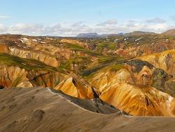 Terres colorées du Landmannalaugar