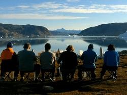 Groenland fjord Petersen