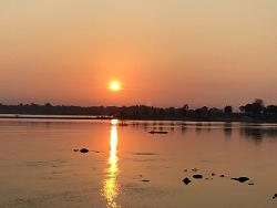 Levée du jour sur le Mekong