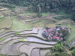 Petit village aux Philippines