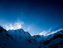 Pureté sur les Annapurna
