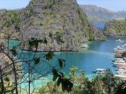 lac Kayagan à Coron Philippines